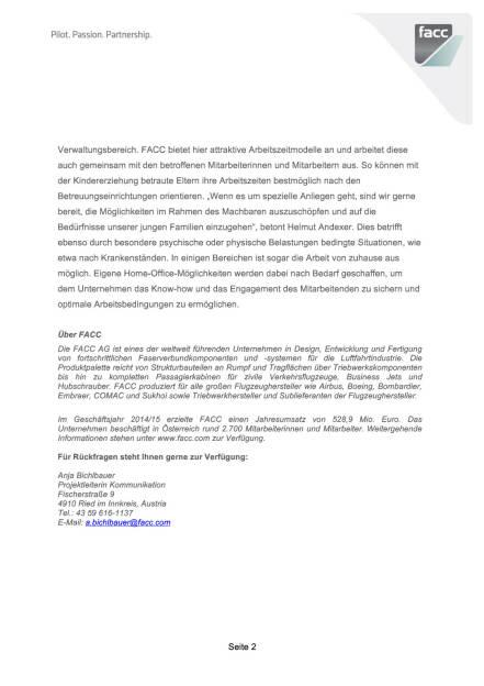 Premiere für den FACC-Sommerkindergarten , Seite 2/3, komplettes Dokument unter http://boerse-social.com/static/uploads/file_105_facc_kinder.pdf (09.06.2015)