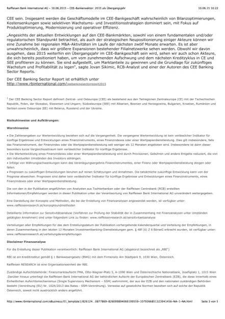 RBI CEE-Bankensektorreport, Seite 3/5, komplettes Dokument unter http://boerse-social.com/static/uploads/file_111_rbi_cee-bankensektorreport.pdf (10.06.2015)