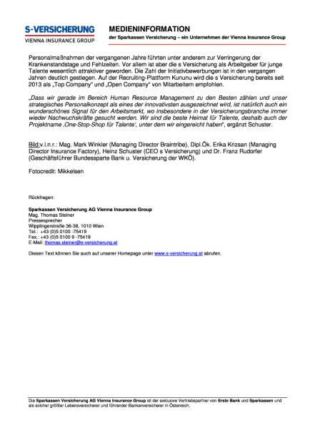 Insurance Innovation Award 2015 für die s Versicherung , Seite 2/2, komplettes Dokument unter http://boerse-social.com/static/uploads/file_113_s_versicherung_award.pdf (10.06.2015)