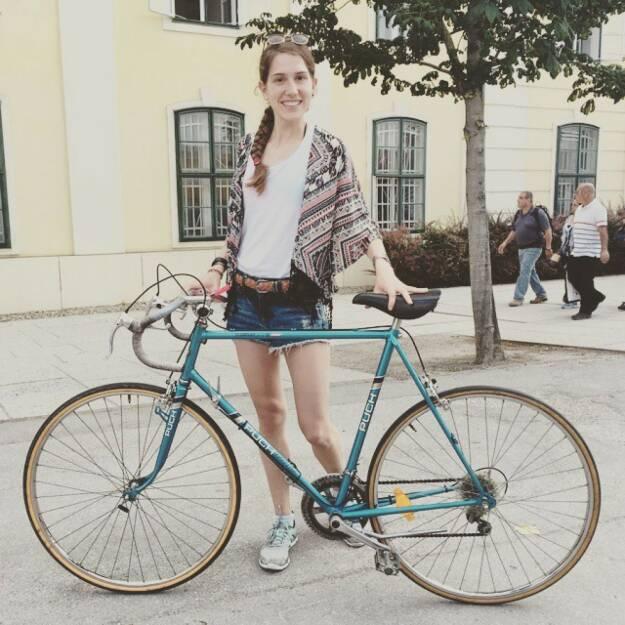 Melanie Raidl Fahrrad, © Melanie Raidl (10.06.2015)