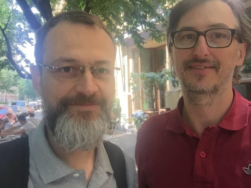 Thomas Keul (Volltext, Recherche), Josef Chladek - sommerlicher Talk wie immer über Medien, Paywalls, Erlössysteme, Literatur und auch Fotobücher (11.06.2015)