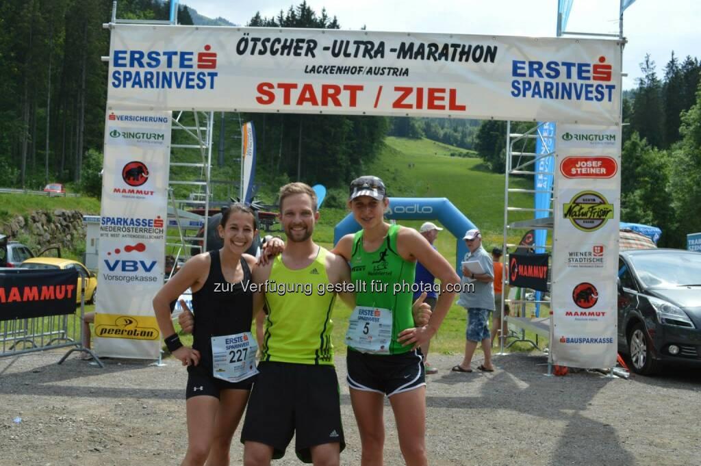 Anita Auttrit, Veronika Limberger, © ESPA-Ötscher-Ultra-Marathon 2015 (16.06.2015)