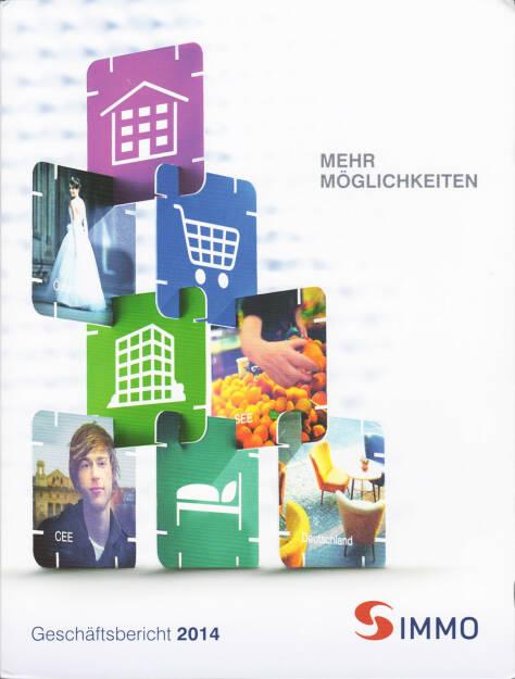 S Immo Geschäftsbericht 2014 http://boerse-social.com/financebooks/show/s_immo_geschaftsbericht_2014 (17.06.2015)