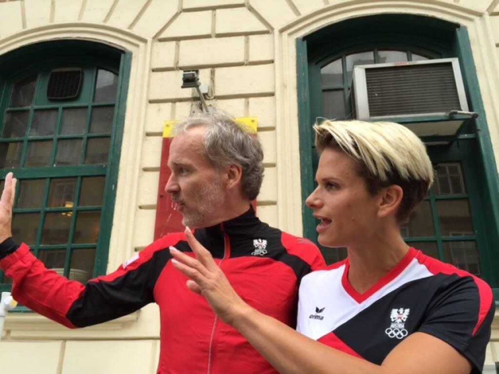 Ciao, Winken, Hi: Christian Drastil (Runplugged), Elisabeth Niedereder (Tristyle) (17.06.2015)