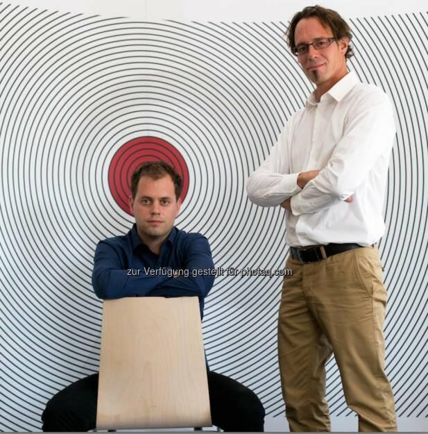 Markus Burgstaller und Manfred Pail: Das Hightech-Unternehmen Perception Park holt einen Kongress für Hyperspectral Imaging in der Industrie in die Steiermark. (C) Perception Park, © Aussender (19.06.2015)