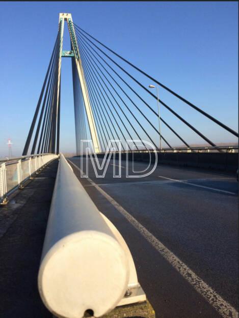 Rosenbrücke Tulln, © Martina Draper (19.06.2015)
