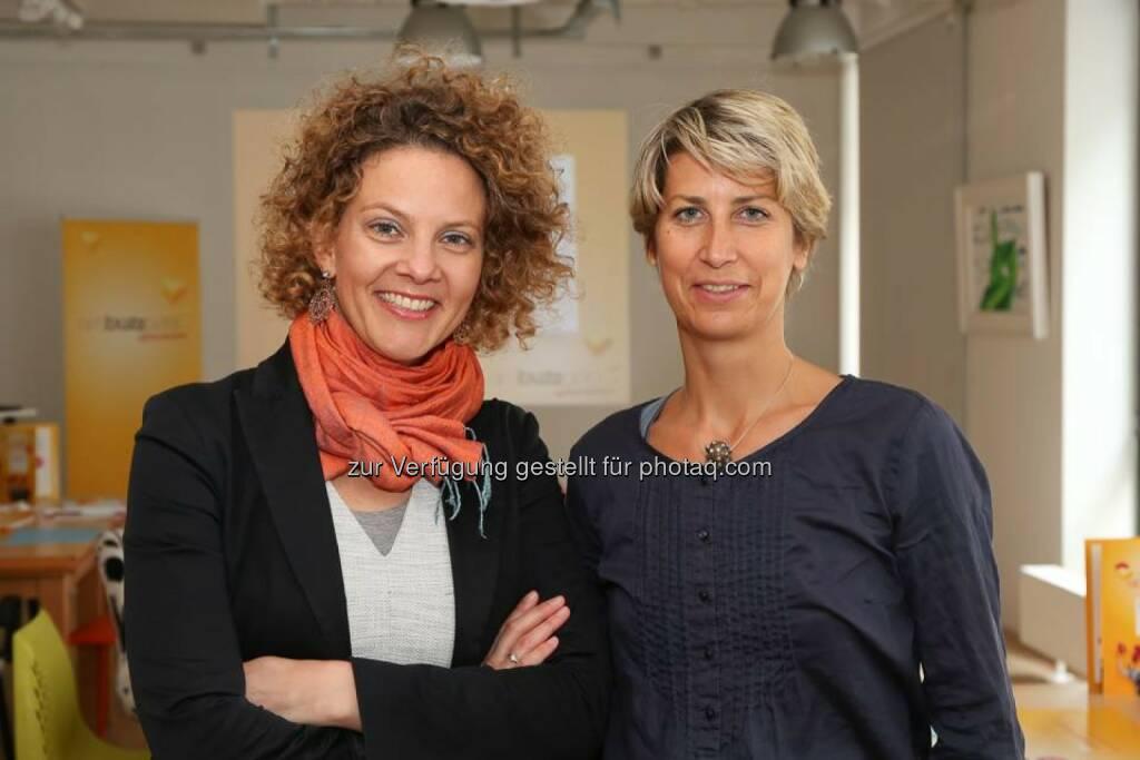 Sabine Hoffmann, Charlotte Hager, © Aussender (19.06.2015)