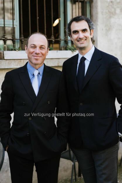 Lavazza Vice-Chairmen Giuseppe und Marco Lavazza: Lavazza Kaffee GmbH: Lavazza Presents Its First Sustainability Report 2014, © Aussender (21.06.2015)