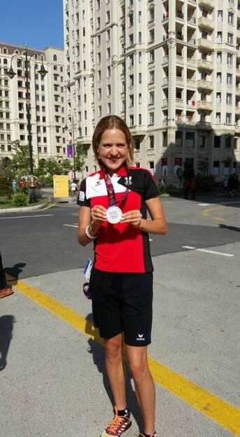 Greiner-Athletin Anita Baierl gewinnt in Baku über 5000m (23.06.2015)