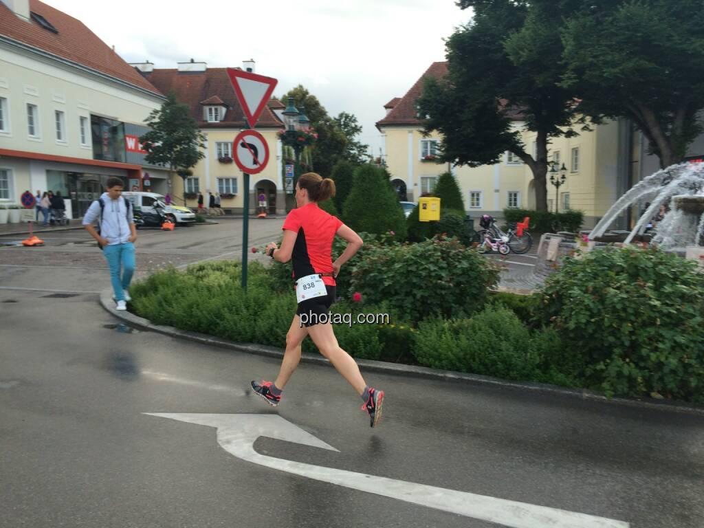 Tullner Rosenarcade Lauf, © Martina Draper (24.06.2015)