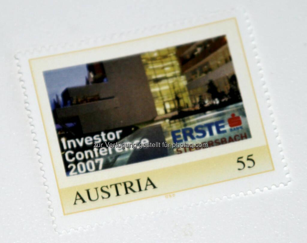 Erste Group: Die Marke zur Investor Conference in Stegersbach (09.03.2013)