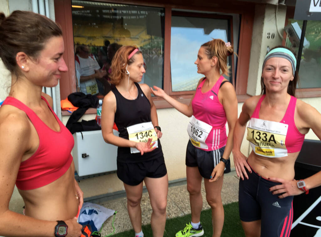 Kirsten Schmidt, Andrea Sarai, Diana  Berisa-Klusoczki, Manuela Antosch, © photaq/Ludwig Hartweger/Martina Draper/div.Handypics (26.06.2015)