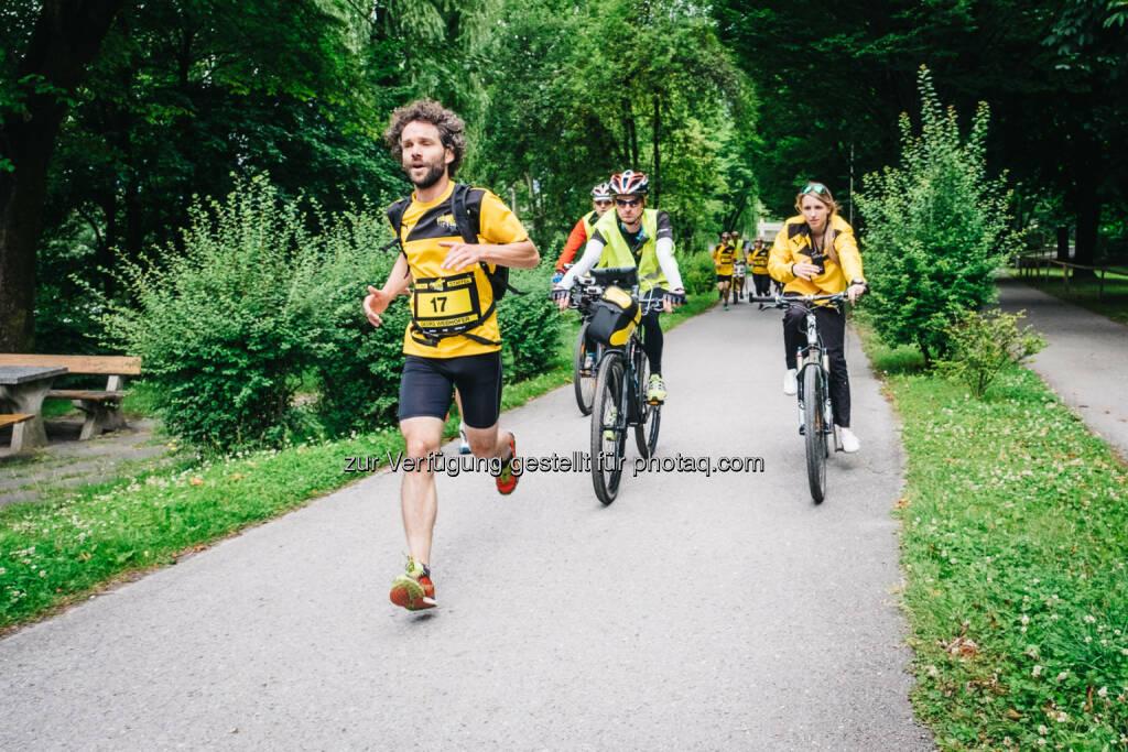 Staffelläufer Georg Webhofer, © Gepa/Post AG (29.06.2015)