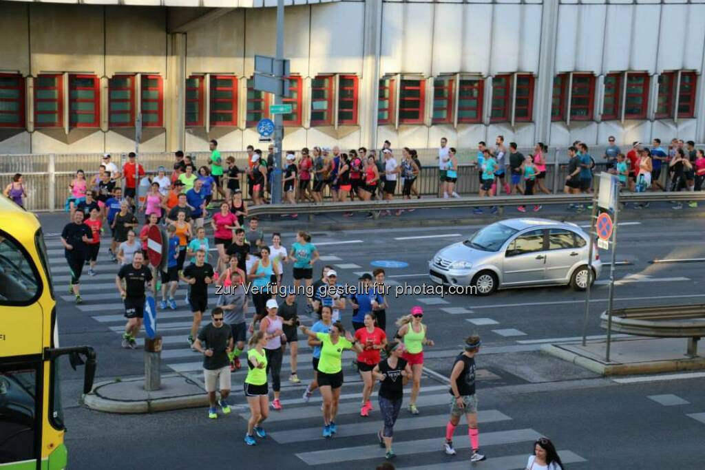 Brooks Run Happy Tour Wien - Mit Victorine Kulier (Bild: Brooks Running), © Brooks (29.06.2015)
