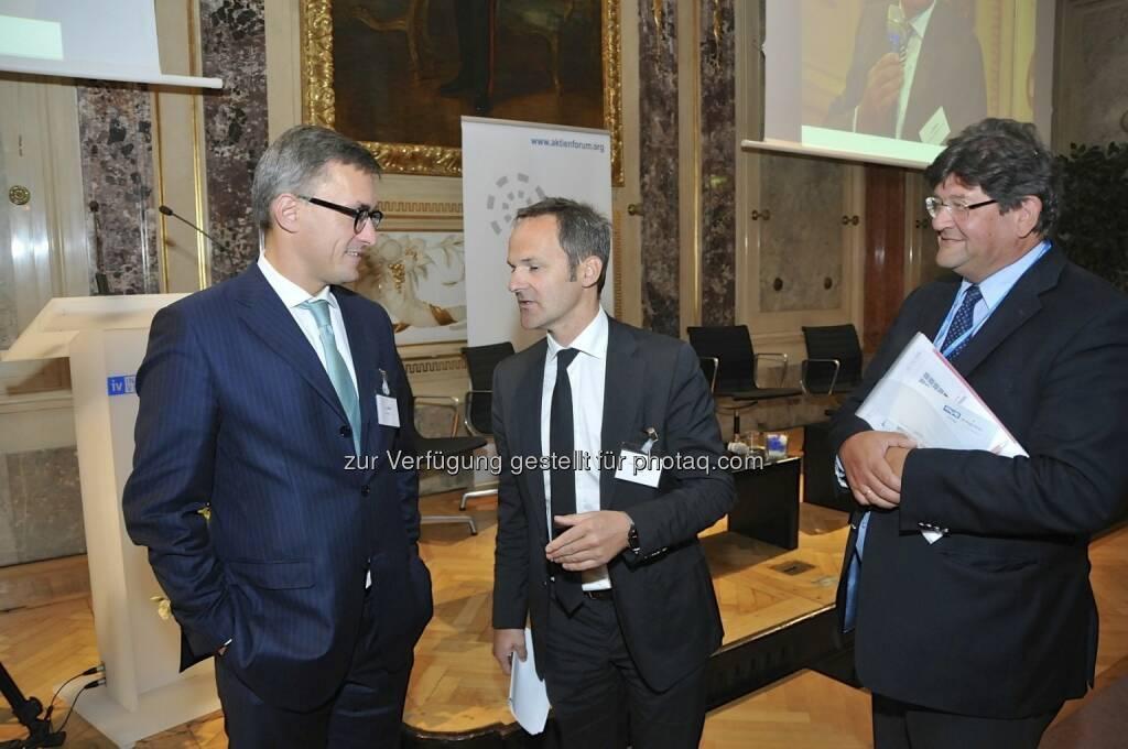 Robert Ottel (voestalpine / Aktienforum), Franz Schellhorn (Die Presse), Stefan Zapotocky (LPC Capital Partners) (15.12.2012)
