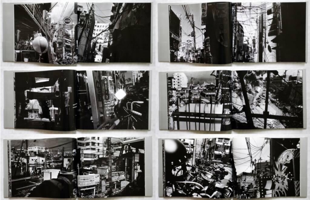 Osamu Kanemura - Spider's Strategy, Osiris 2001, Beispielseiten, sample spreads - http://josefchladek.com/book/osamu_kanemura_-_spiders_strategy, © (c) josefchladek.com (02.07.2015)
