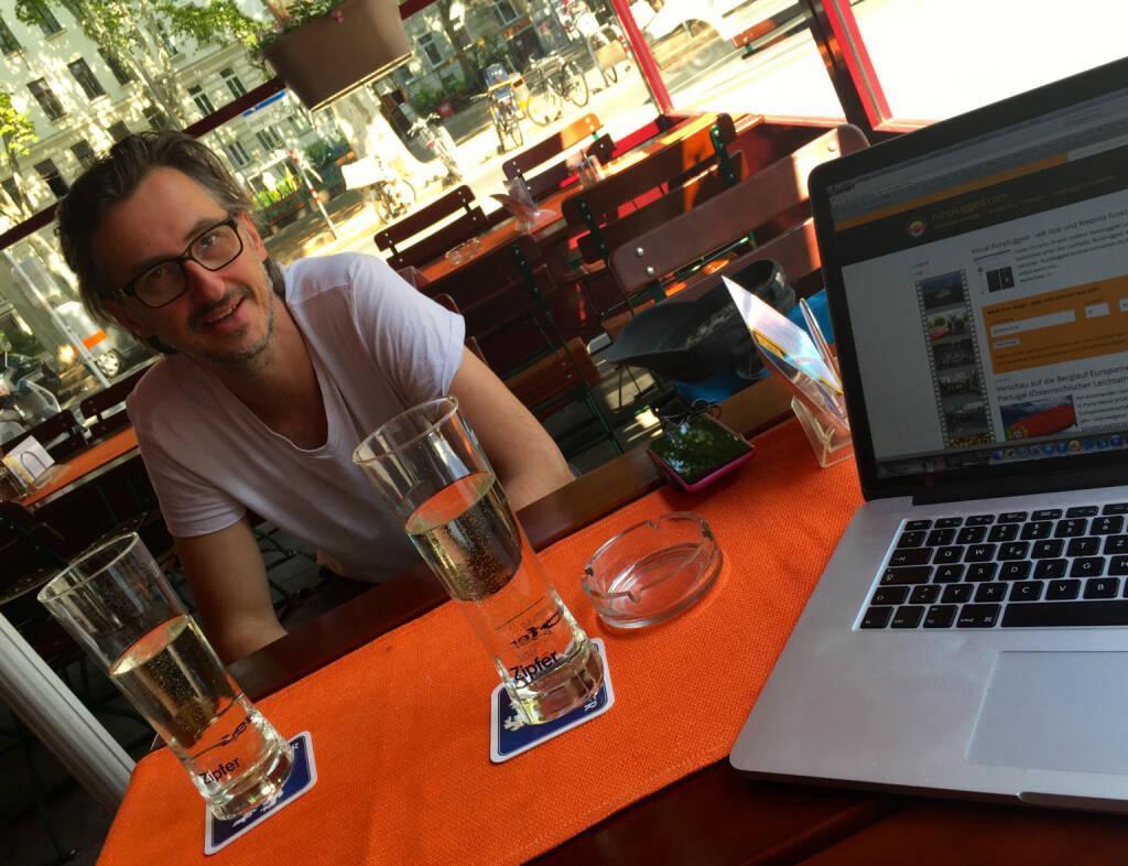 Mit Co. Josef Chladek auf der Last Mile für etwas Grosses (02.07.2015)