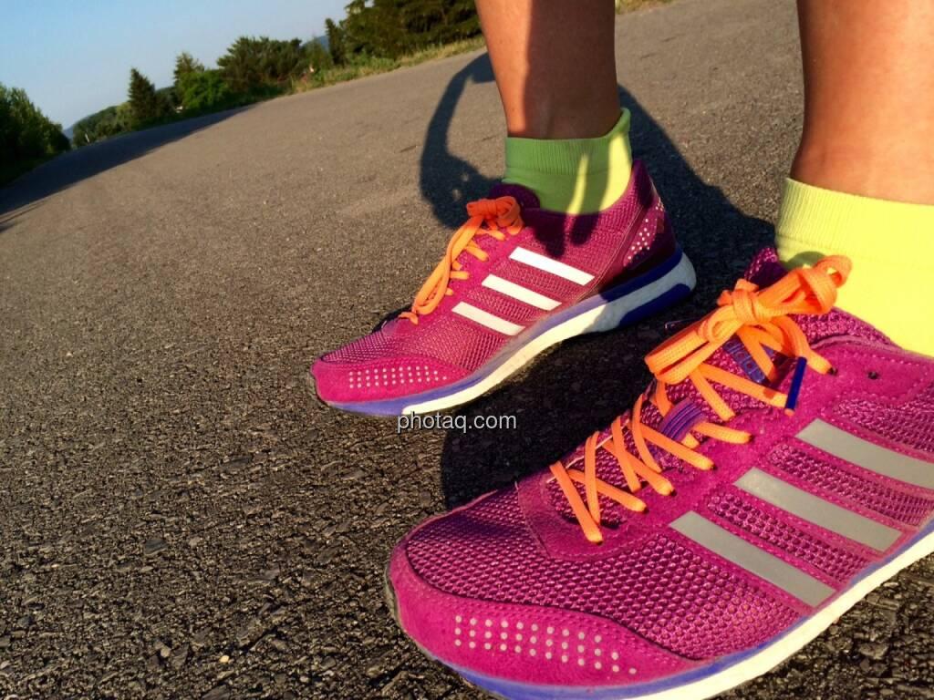Laufschuhe, Schuhe, Sportschuhe, Adidas, © Martina Draper (02.07.2015)