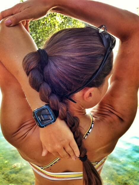 Monika Kalbacher Garmin Schwimmen, © Diverse  (03.07.2015)