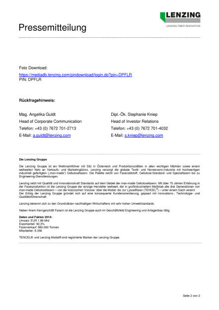 Lenzing AG verkauft drei Bereiche der Lenzing Technik, Seite 2/2, komplettes Dokument unter http://boerse-social.com/static/uploads/file_202_lenzing_technik.pdf (03.07.2015)