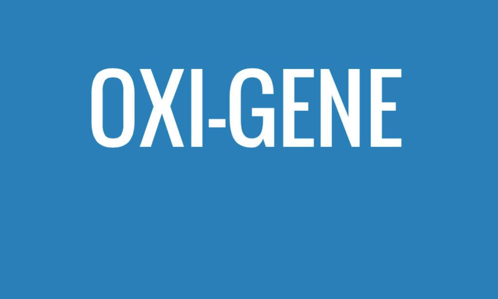 Oxi Gene (06.07.2015)