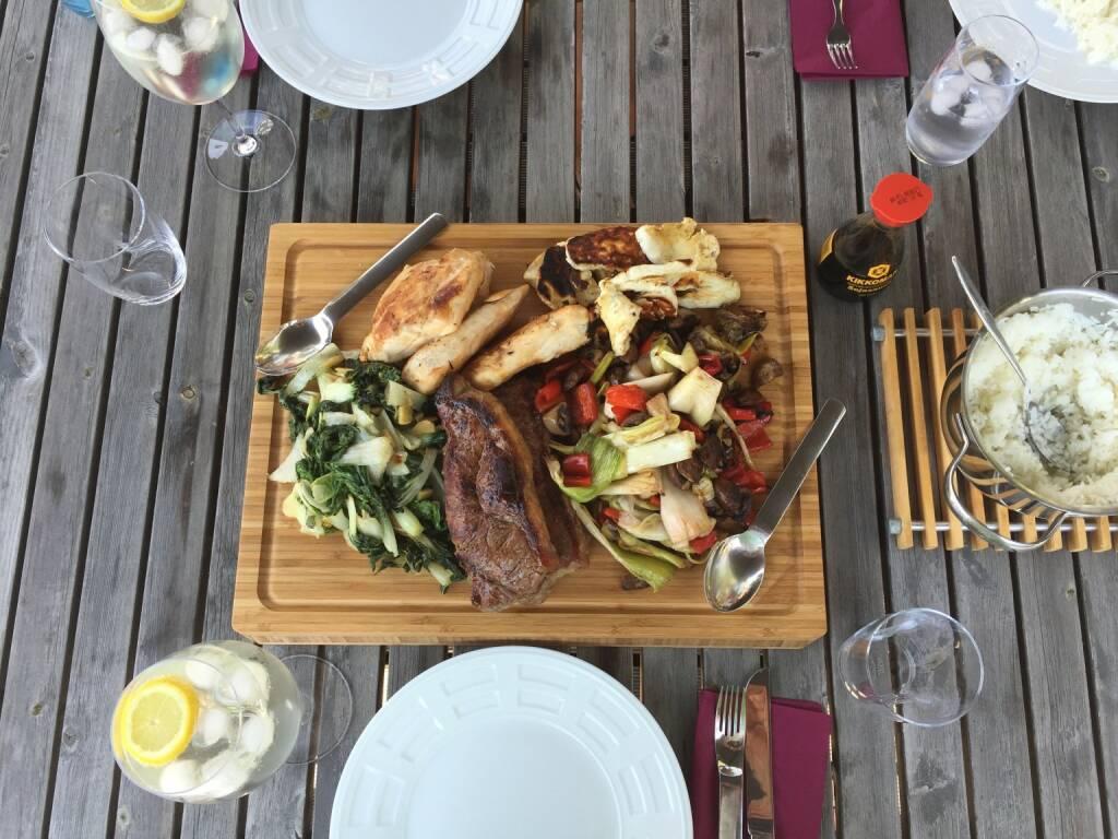 Essen, Fleisch, Gemüse (06.07.2015)
