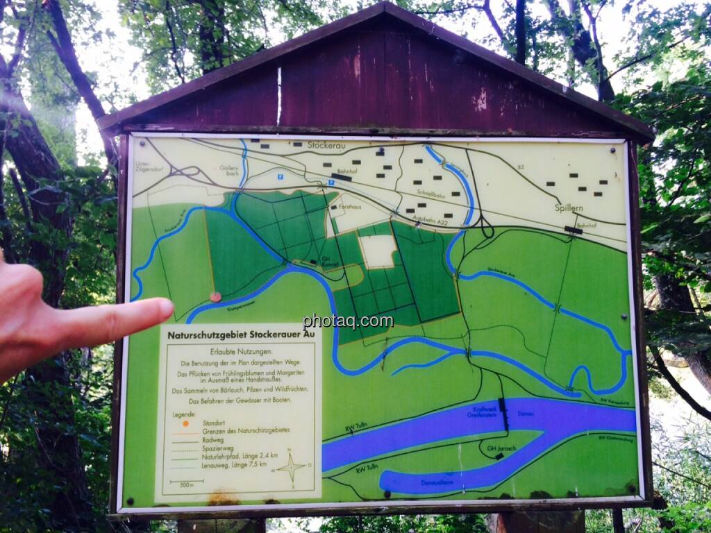 Landkarte, Wegweiser, Schild, © Martina Draper (07.07.2015)