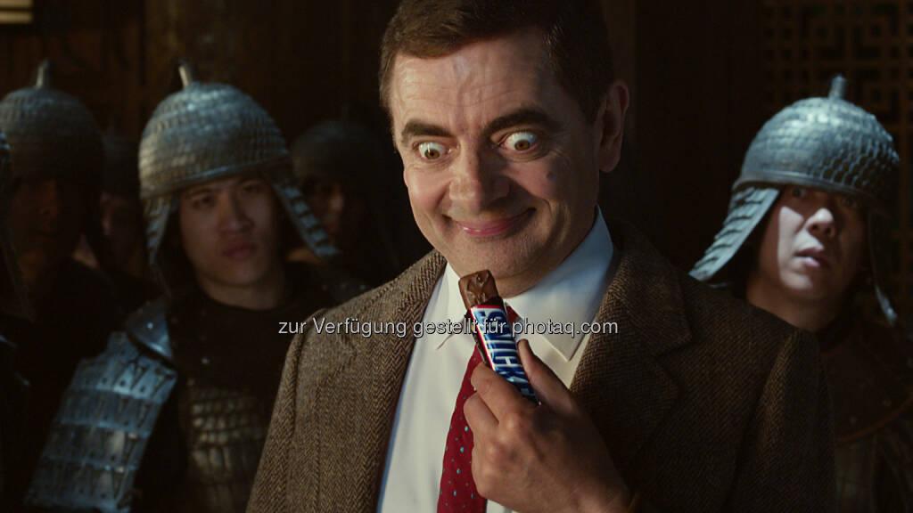 """Rowan Atkinson; Mars Austria OG: Österreichstart der neuen Snickers® Kampagne mit """"Mr. Bean"""" Darsteller Rowan Atkinson am 12. Juli 2015 (C) Mars Austria, © Aussendung (09.07.2015)"""