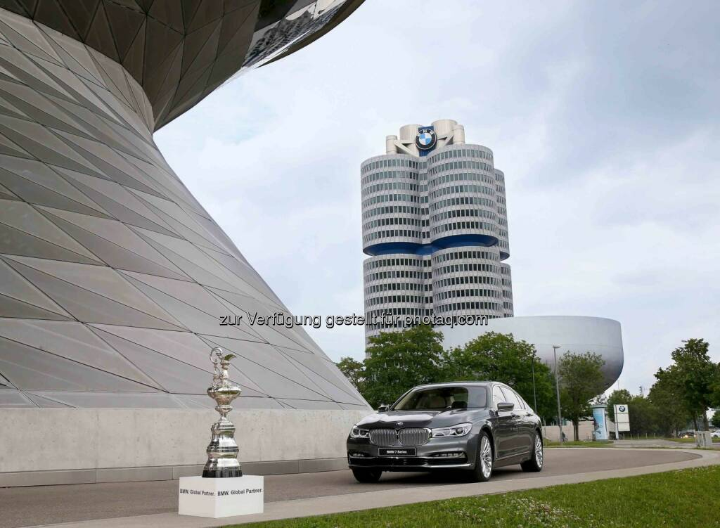 "BMW wird ""Global Partner"" des 35. America's Cup.  (Photo by Alexander Hassenstein/Getty Images  For BMW), © Aussendung (12.07.2015)"