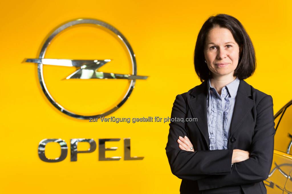 Barbara Schlosser zur Geschäftsführerin von Opel Wien GmbH ernannt : © Opel Wien GmbH, © Aussender (14.07.2015)