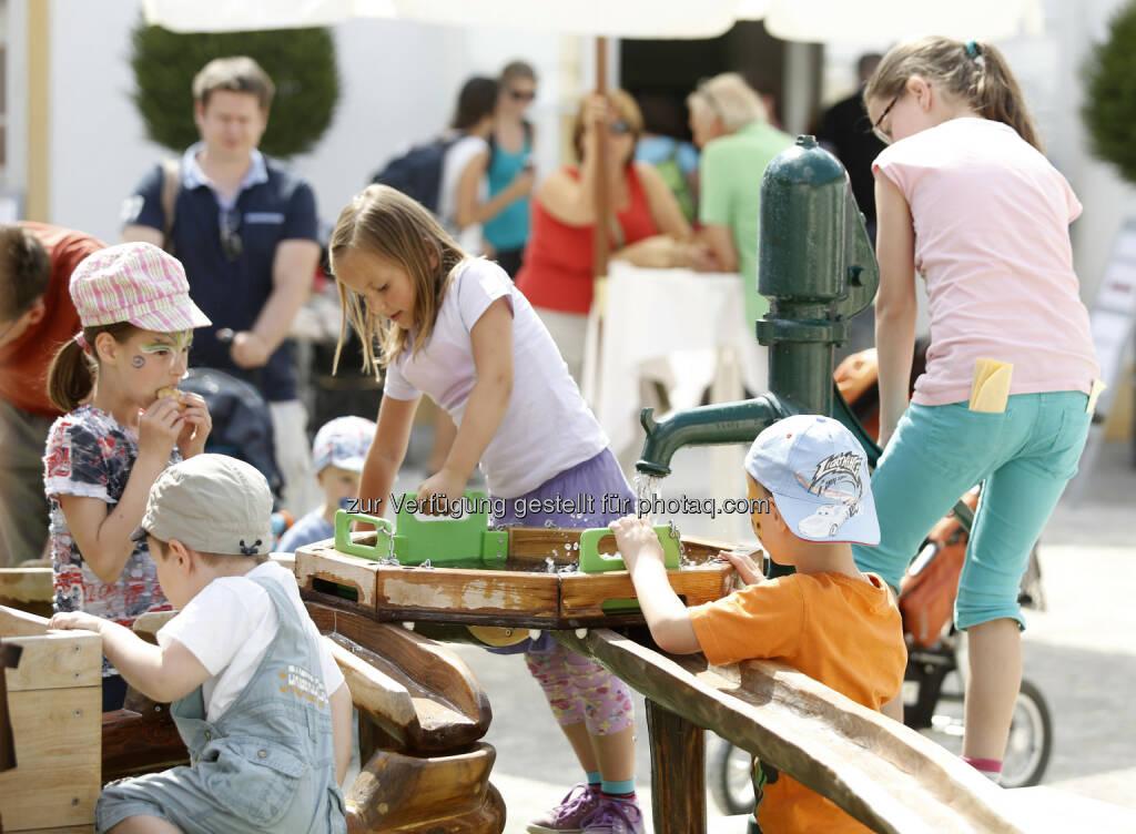 Schloss Hof: Der große Ferienspaß im August : (c) Schloss Hof/Mag. phil. Florian Müller, © Aussender (14.07.2015)