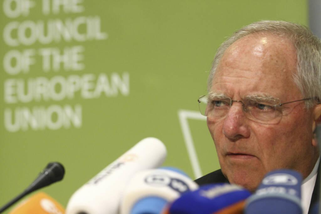 Wolfgang Schäuble, Finanzminister, Deutschland, Griechenland, <a href=http://www.shutterstock.com/gallery-699223p1.html?cr=00&pl=edit-00>YiAN Kourt</a> / <a href=http://www.shutterstock.com/editorial?cr=00&pl=edit-00>Shutterstock.com</a>, YiAN Kourt / Shutterstock.com (14.07.2015)