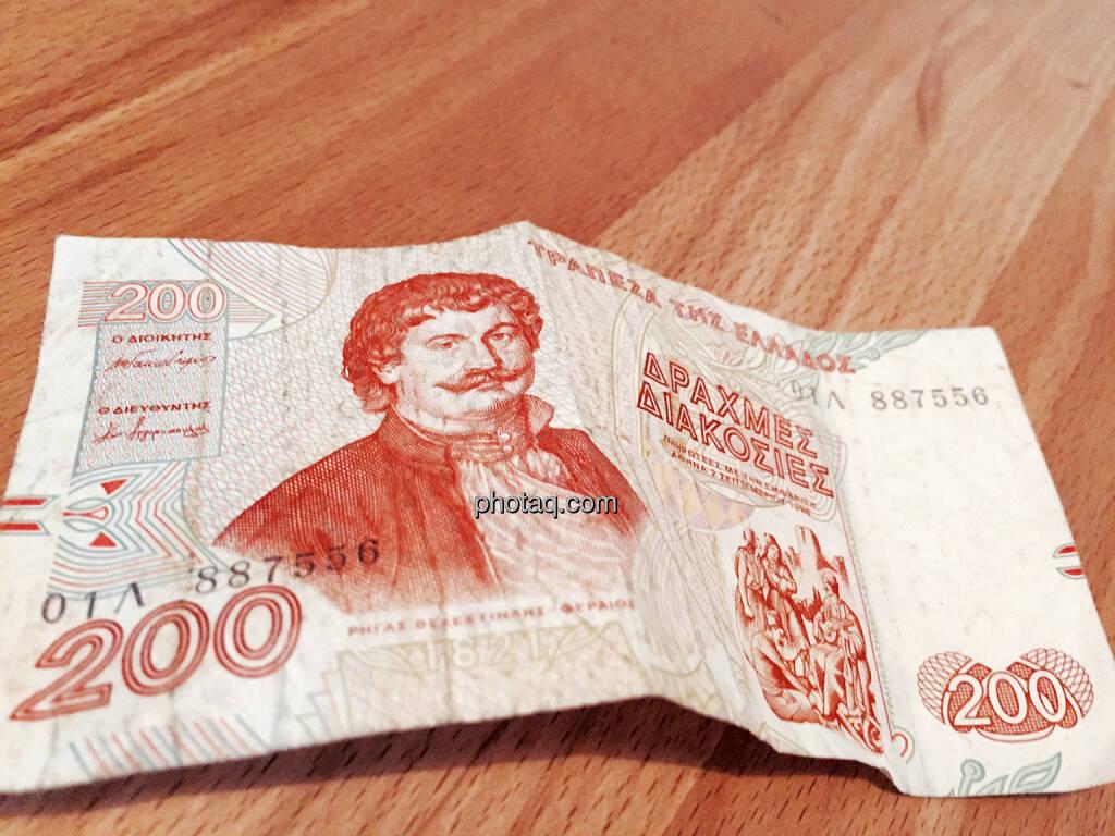 Griechenland, Drachme, Drachmen, 200, © photaq.com (15.07.2015)