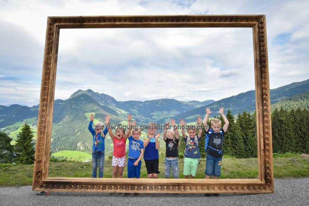 Kinder entdecken die Natur : Ferienregion Alpbachtal Seenland : © Grießenböck Gabriele, © Aussender (16.07.2015)