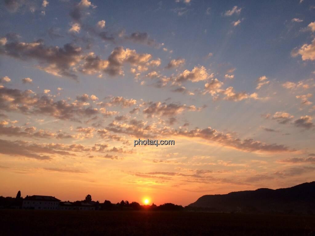 Sonnenaufgang, Himmel, © Martina Draper (17.07.2015)