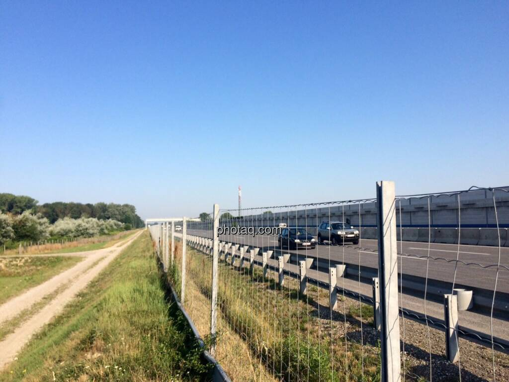 Autobahn, Weg, © Martina Draper (17.07.2015)