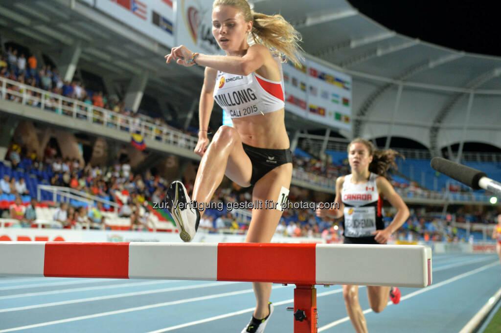 Lena Millonig, 2000m Hindernis, Balken (Bild: ÖLV/Jiro Mochizuki) (17.07.2015)