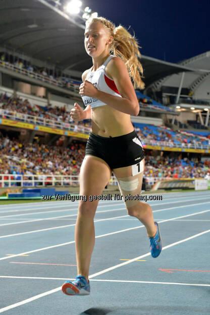 Andrea Obetzhofer, 800m (Bild: ÖLV/Jiro Mochizuki) (19.07.2015)