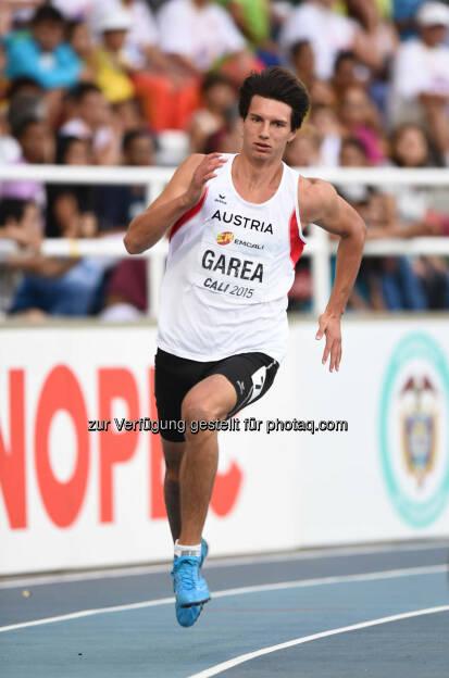 Nico Garea, 200m (Bild: ÖLV/Jiro Mochizuki) (19.07.2015)