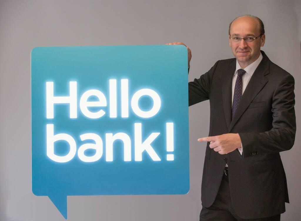 Ernst Huber (Hello bank) © Frank Neumayr , © Aussender (20.07.2015)
