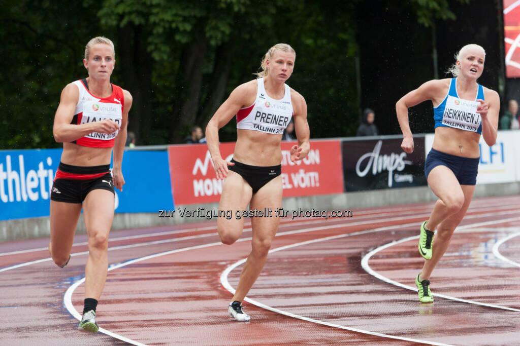 Verena Preiner, 200m (Bild: ÖLV/Coen Schilderman) (20.07.2015)