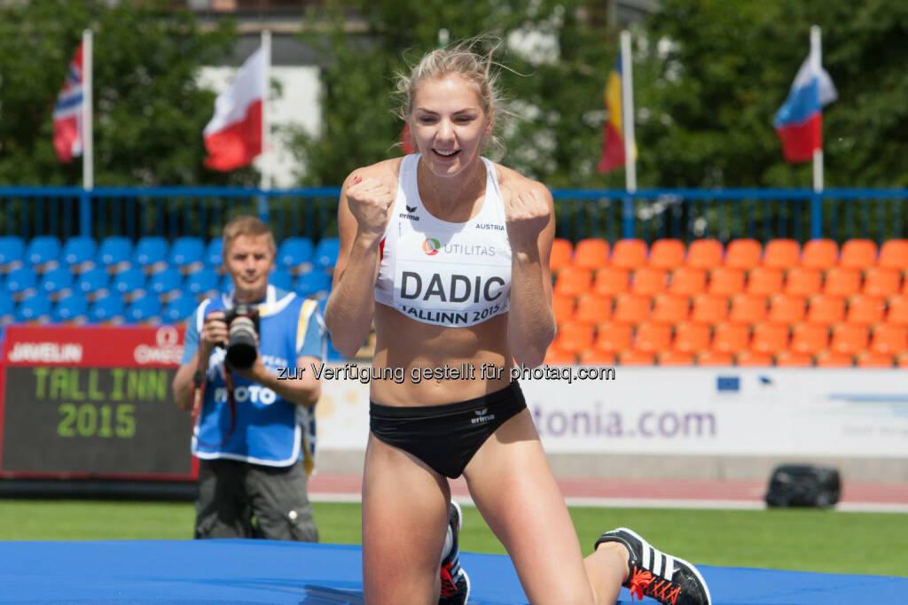 Ivona Dadic, Hochsprung, Faust, Yes (Bild: ÖLV/Coen Schilderman) (20.07.2015)