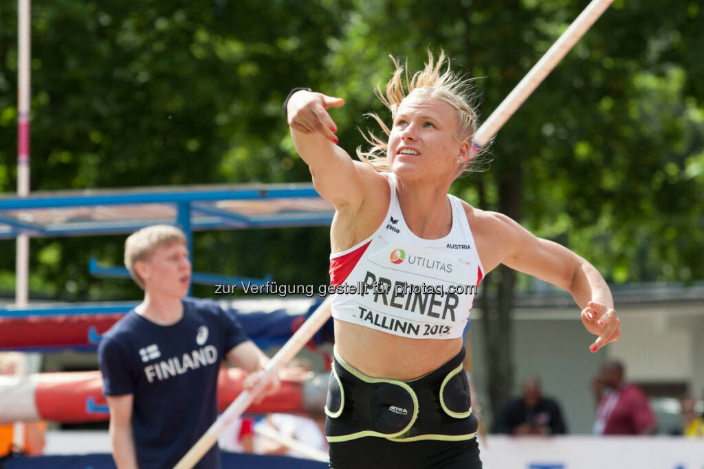 Verena Preiner, Kugelstossen (Bild: ÖLV/Coen Schilderman) (20.07.2015)