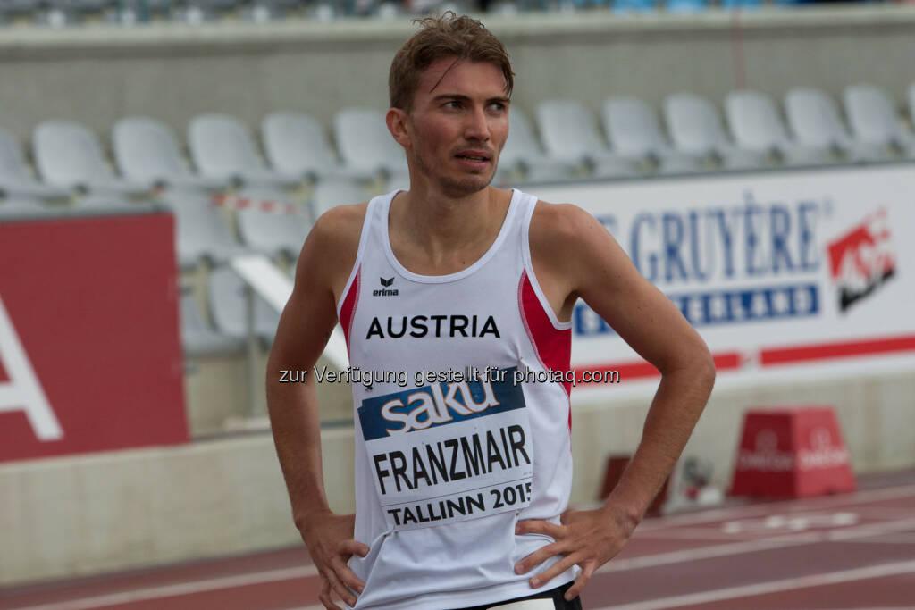 Niki Franzmair, 1500m (Bild: ÖLV/Coen Schilderman) (20.07.2015)