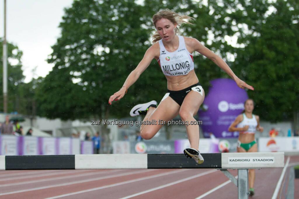 Julia Millonig, 3000m Hindernis, Balken (Bild: ÖLV/Coen Schilderman) (20.07.2015)