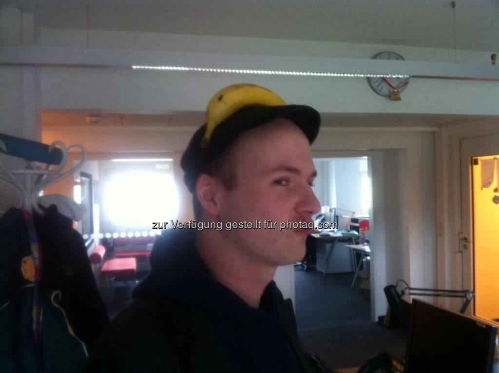 Arthur Einöder, fm4, für Frisurentrend Business Typ - Bananing (13.03.2013)