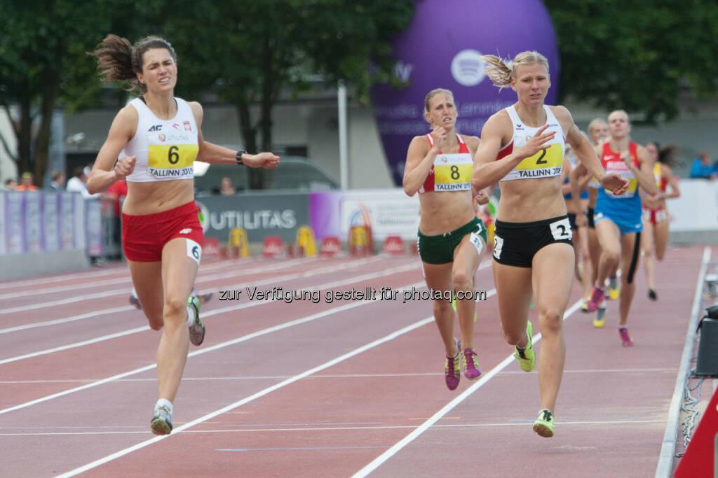 Verena Preiner, 800m (Bild: ÖLV/Coen Schilderman) (21.07.2015)