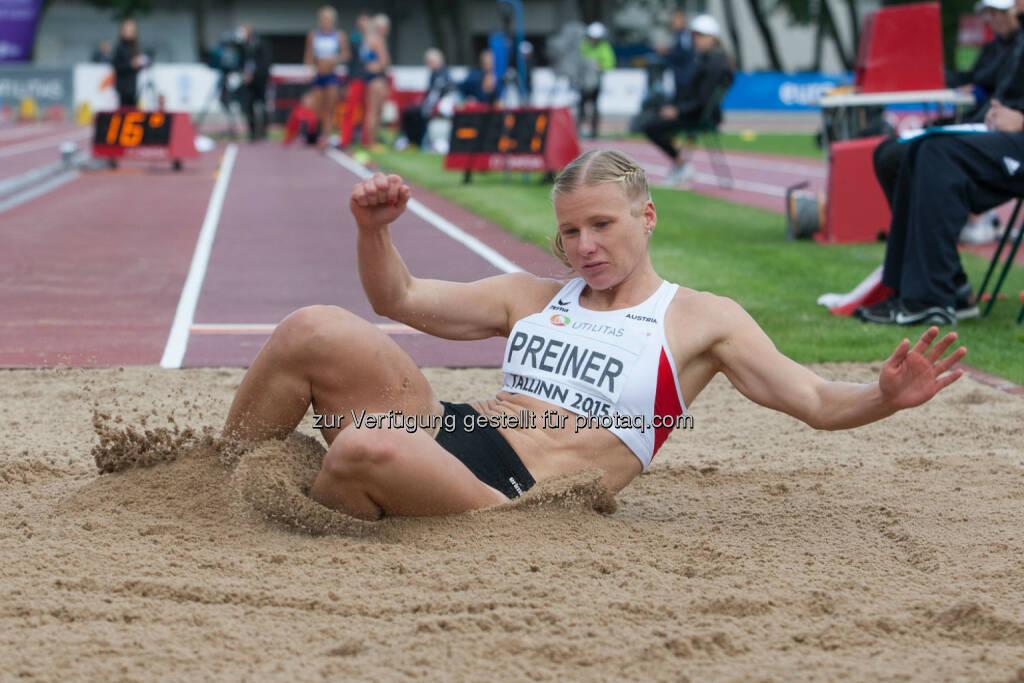 Verena Preiner, Weitsprung (Bild: ÖLV/Coen Schilderman) (21.07.2015)