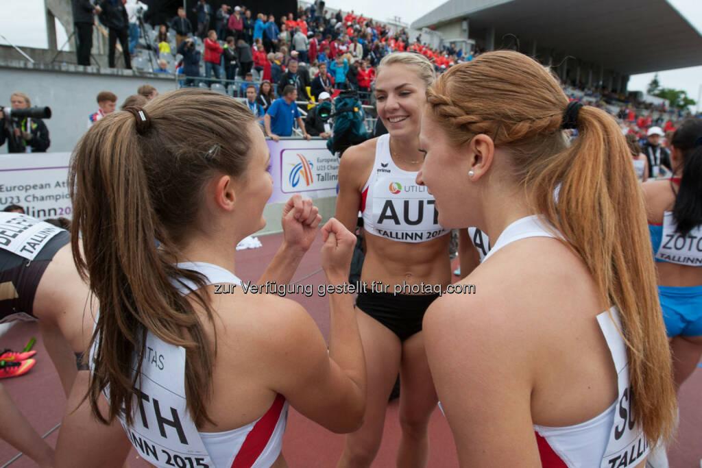 4x400m Staffel, Österreich, Austria (Bild: ÖLV/Coen Schilderman) (21.07.2015)