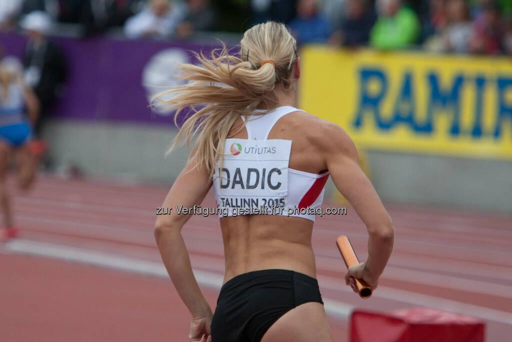 4x400m Staffel, Österreich, Dadic (Bild: ÖLV/Coen Schilderman) (21.07.2015)